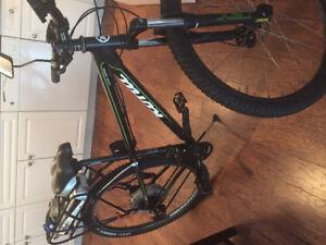 Bionx eletric kona mountain bike