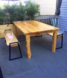 Harvest table & Benches