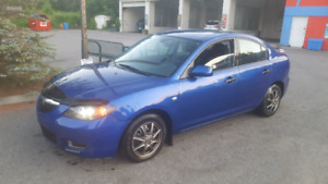 2007 Mazda 3 great on gas quebec plated
