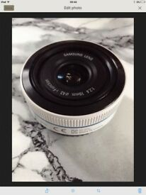 Samsung 16mm lens I-Function (White)
