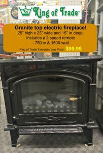 Decorflame Electric Fire Place - King of Trade