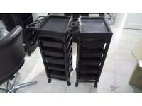 2 hairdressing trolley