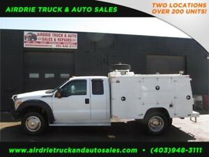 2012 Ford Super Duty F-450 DRW XLT VMAC 9 Ft Service Body!!