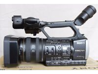very low hours Sony HXR NX3 camcorder Full 4 HD k AVCHD p2 hxrnx3 video camera pro £1499