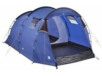 almost new Senderos 4 man tent (used once cost £100) plus 2nd hand 2 man dome tent accept £50 both