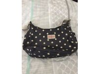 Cath Kidson spotty handbag and matching purse