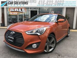 2015 Hyundai Veloster Turbo-Navi-Leather-SOLD