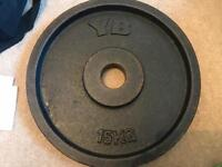 3 x YB 15kg Olympic weights