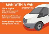 Man with a van, collections & deliveries