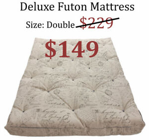 Deluxe Grade A Futon Mattress Only $149 *Limited Offer