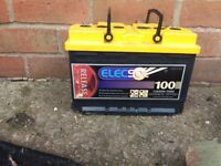 Leisure battery used as a spare. Working perfectly
