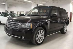 2010 Land Rover Range Rover AUTOBIOGRAPHY/SUPERCHARGED/DVD/LOADE
