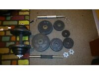 Dumbells for sale (Excellent Condition)