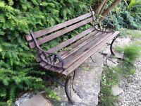 Garden Bench for restoring
