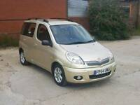 Toyota yaris verso automatic bigger than a van