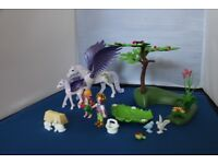 Playmobil Royal Children with Pegasus and Baby - Princess 5478