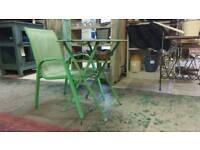 Vintage kids table/chair