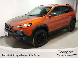 2015 Jeep Cherokee Trailhawk - 4x4 | Local Trade | Bluetooth...
