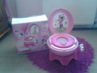minnie mouse potty system £15