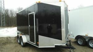 NEW 7x12 + V-NOSE ENCLOSED CARGO TRAILERS