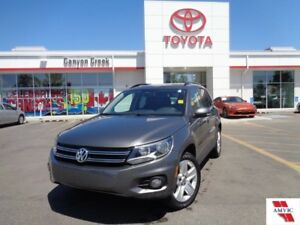 2014 Volkswagen Tiguan DEALER INSPECTED & WARRANTIED LOW KMS