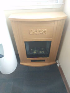 Electric fireplace Low/High settings