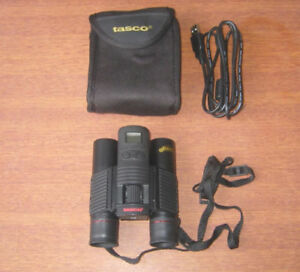 TASCO SNAPSHOT 10X25 BINOCULAR WITH BUILT-IN DIGITAL CAMERA