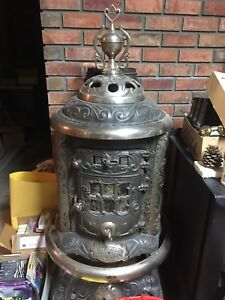 Vintage No 17 Grand Jewel cast iron stove by Burrows