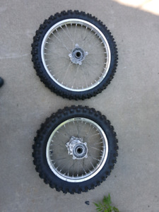 Husqvarna wheel set