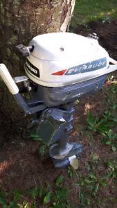 Envinrude Yacht Twin outboard motor