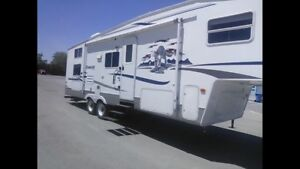 2005 Keystone cougar 28 1/ fifth wheel bunkhouse