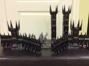 Lego LOTR Black Gate (pieces seulement)