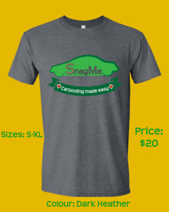 SnagMe TShirts - Carpooling Made Easy