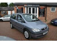 VAUXHALL ZAFIRA 1.6 CLUB 16V 5d 99 BHP COMES WITH 12 MONTH MOT (silver) 2004
