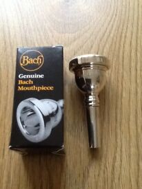 VINCENT BACH CORP 11C Trombone mouthpiece - Excellent condition as barely used