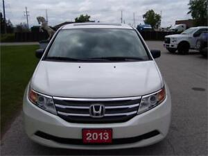 2013 Honda Odyssey EX-L with entertainment package.