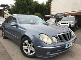 Mercedes-Benz E Class 2.7 E270 CDI Avantgarde Service History Xenon Lights