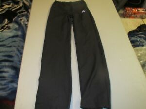 Girls Black Adidas Athletic Pants Size Small
