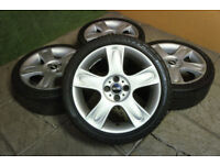 "Genuine MINI 17"" Bullet Alloy wheels 4x100 Cooper S One Alloys MG ZR Cabrio"