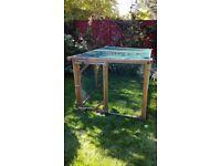Freestanding Wooden Solid Chicken/Pet Garden Run **REDUCED**