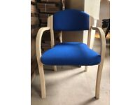 Reception/Visitor Chair, 10 In Stock.