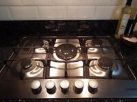 6 month old 5 ring gas hob