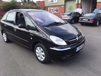2004 Citroen xsara Picasso diesel, starts and drives well, MOT until January 2018, ice cold air con,