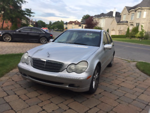 2004 Mercedes-Benz C-Class C240 4-Matic Sedan