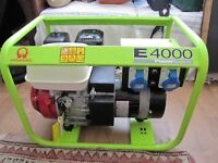 """""""As new"""" petrol generator for sale"""