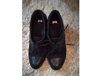 CAMPER 21313-004 MAMBA LEATHER OXFORD LACE UP BLACK SHOES UK 4 EUR 37 RRP £110