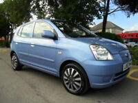 KIA PICANTO 1.1 LX 2005 0NLY 82000 MILES COMPLETE WITH M.O.T HPI CLEAR INC