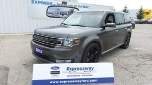 2016 Ford Flex SEL, AWD, Sport Pkg, NAV, Moonroof