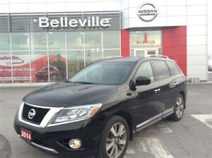 2014 Nissan Pathfinder Platinum with NAVIGATION