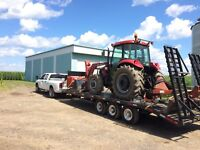 Transport tracteur , agricole , machinerie , marchandise etc